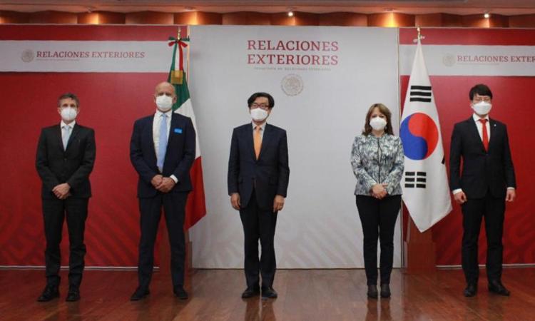 Corea del Sur dona insumos médicos a México para combatir el COVID-19
