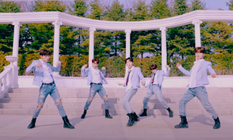 DONGKIZ baila bajo la primavera en el MV de 'UNIVERSE'