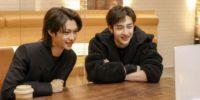 Felix y Bang Chan de Stray Kids conversando con las fans