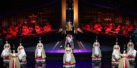 Artistas coreanos en escena