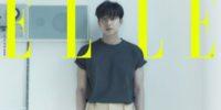 Gong Yoo en la portada de Elle Korea