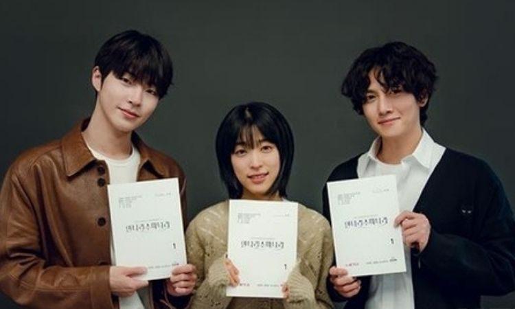 Hwang In Yeop, Choi Seong Eun y Ji Chang Wook en primera lectura de guion de Annarasumanara