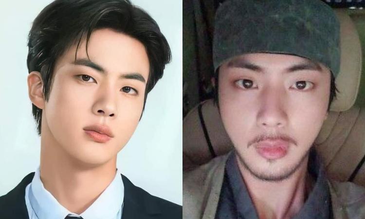 Debate: ¿Jin de BTS con barba o sin barba?