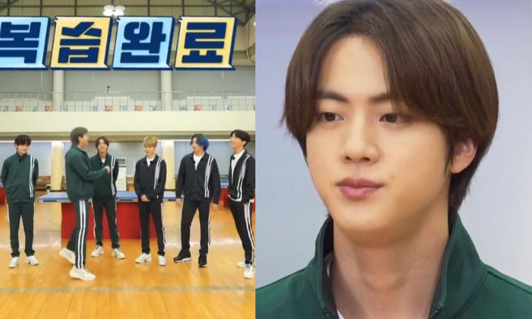 Jin es el rey de los deportes en el nuevo episodio de Run BTS