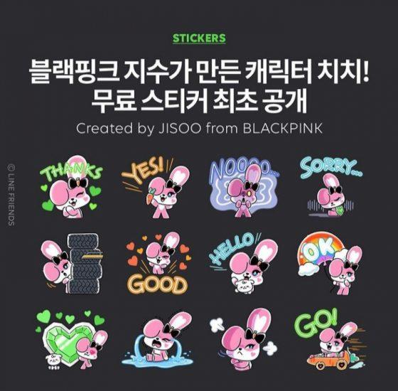 Stickers de Chichi para Line