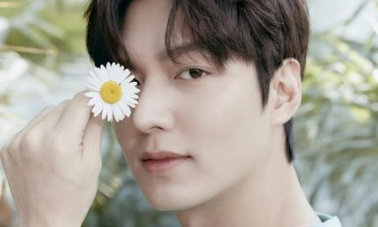 Lee Min Ho luce un hermoso concepto de verano para la nueva colección de 'And Z'