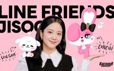Colaboración de Jisoo y Line Friends