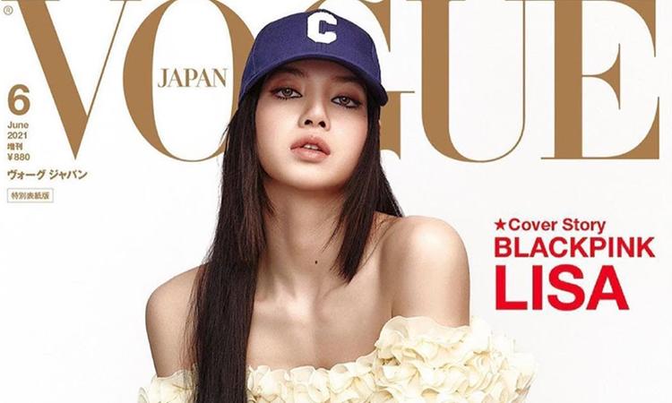 No vas a creer el precio del vestido que usó Lisa de BLACKPINK en la portada de Vogue