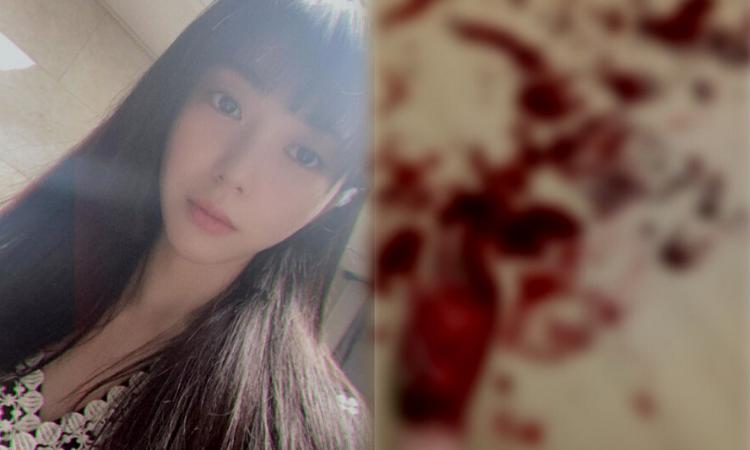 Mina ex AOA compartilha uma maldita foto de auto-flagelação em sua conta Instagram