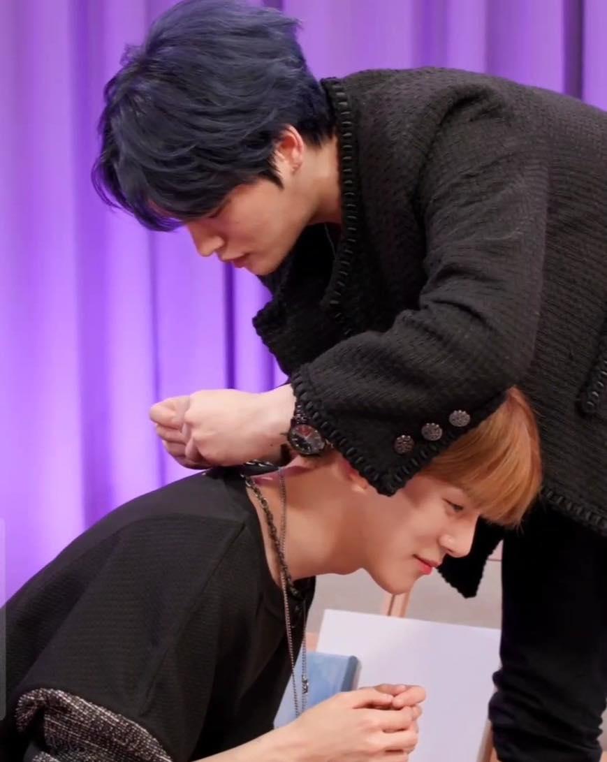 Minhyuk de MONSTA X tiene un encuentro memorable con Kim Jaejoong