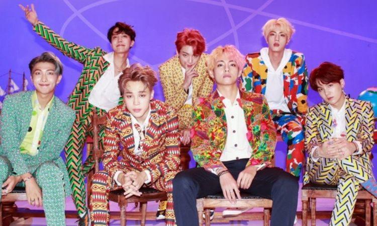 BTS para el MV de Idol