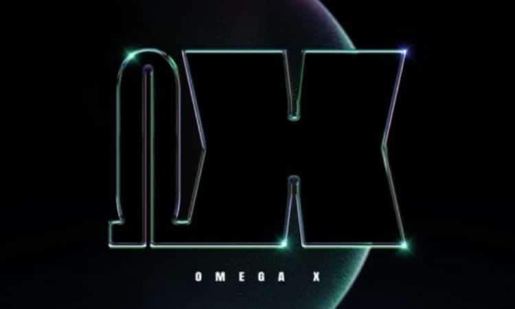 Logo oficial de OMEGA X