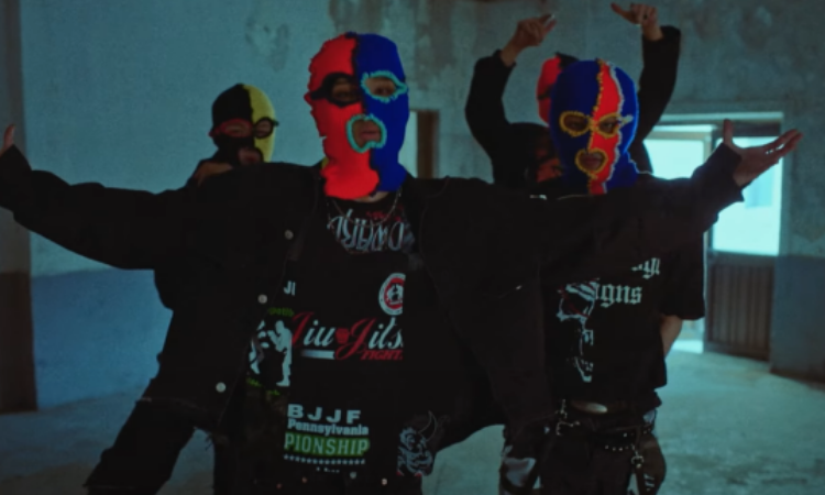 P1Harmony son rebeldes con máscaras en el vídeo teaser de 'Scared'