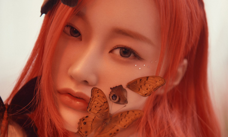 PIXY se rodea de mariposas en un primeras fotos teaser para 'Bravery'