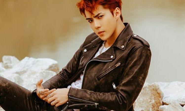Sehun de EXO para el álbum Don't Mess Up My Tempo