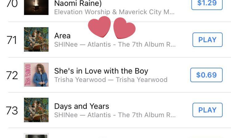 Estos son los logros de Atlantis de SHINee en iTunes Charts de Estados Unidos