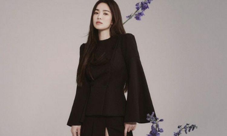 Song Hye Kyo para la revista Bazaar Taiwan