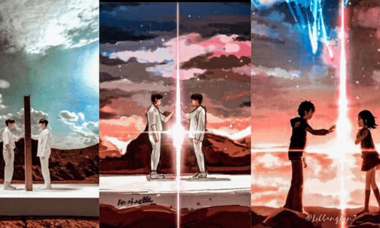 ARMY realiza hermosa adaptación del SOPE de BTS con la película 'Kimi no na wa'