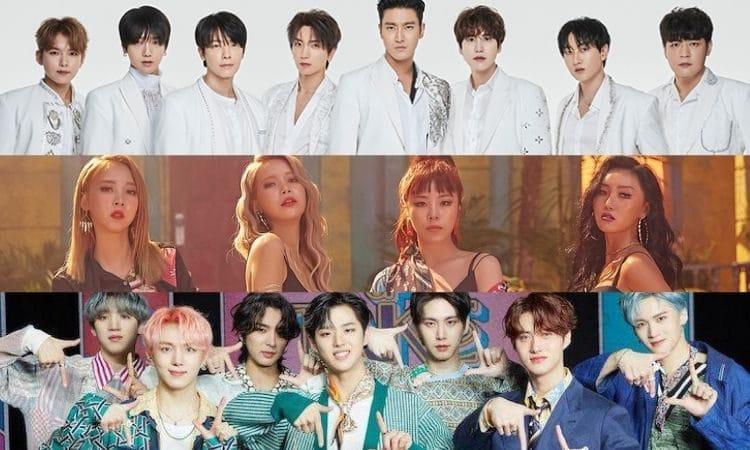 Super Junior, Mamamoo y Pentagon