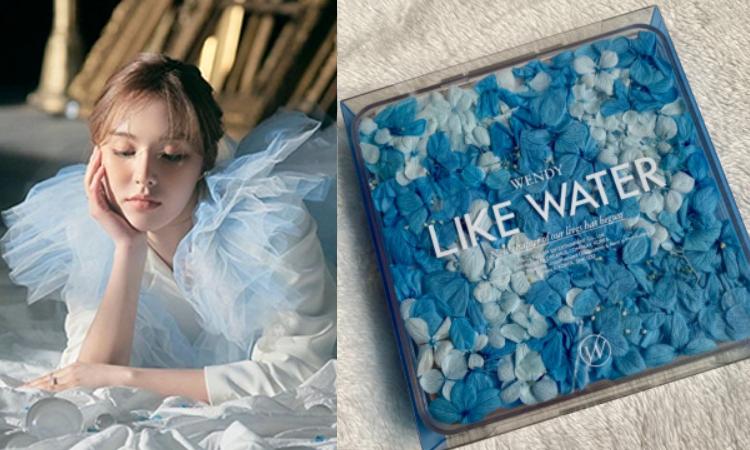 Netizens se enamoran del empaque para el nuevo album de Wendy de Red Velvet