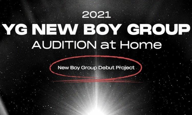 YG Entertainment realizará audiciones globales para un nuevo grupo de chicos