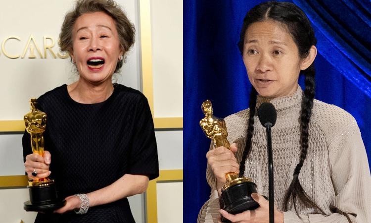 Corea celebra el Oscar de Yoon Yeo Jung; China calla la victoria de Chloe Zhao