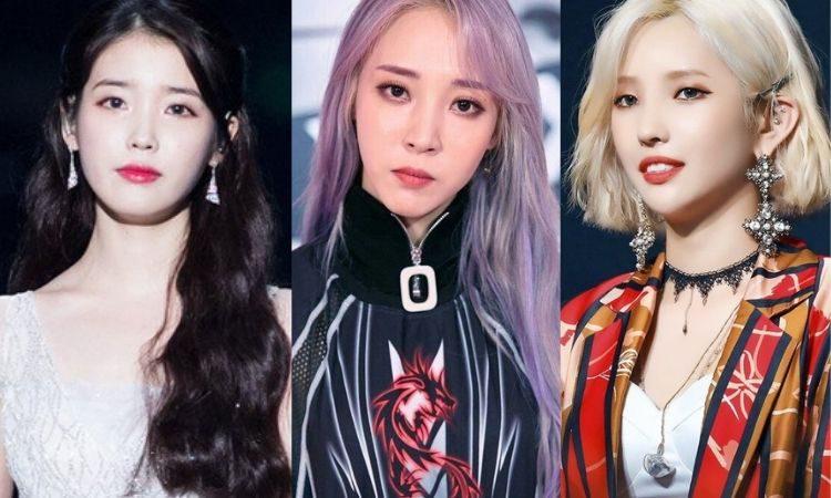 IU, Moonbyul de Mamamoo y Soyeon de (G) I-DLE