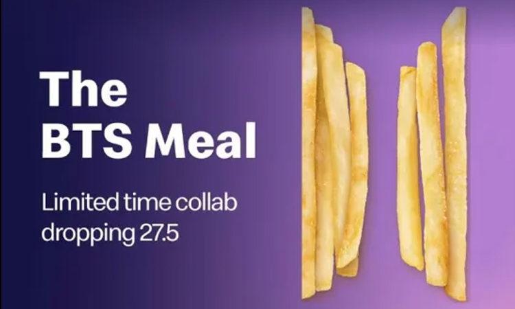 McDonald's presenta las nuevas fotos del BTS MEAL