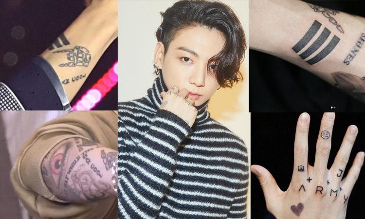 Tatuadores profesionales se encuentran agradecidos con Jungkook de BTS