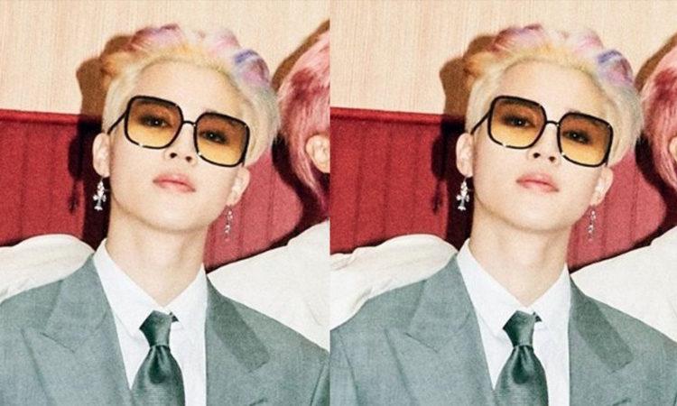 Jimin es tendencia en Twitter con su cabello arcoíris en las fotos para BUTTER