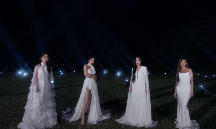 MAMAMOO lucen un hermoso vestido blanco en el MV teaser de WAW