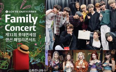 Horarios para LATAM y España para el concierto familiar de 31st Lotte Duty Free