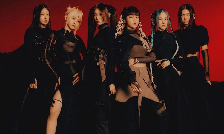 EVERGLOW muestra su lado oscuro en su foto grupal de Last Melody