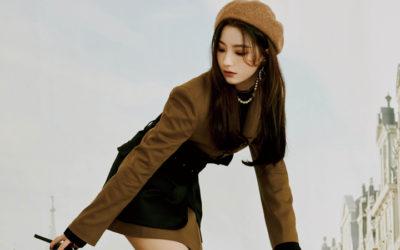 Nagyung, Seoyeon, y Saerom de fromis_9 sacan su lado viajare en las fotos para 9 WAY TICKET
