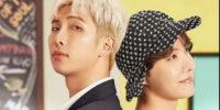 RM y J-Hope tuvieron la misma celebridad femenina como sus fondos de pantalla
