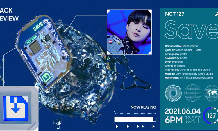 Amoeba Culture presenta un adelanto de audio con alta energía de NCT 127 con Save