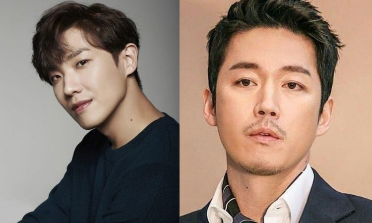 Actores Lee Joon y Jang Hyuk