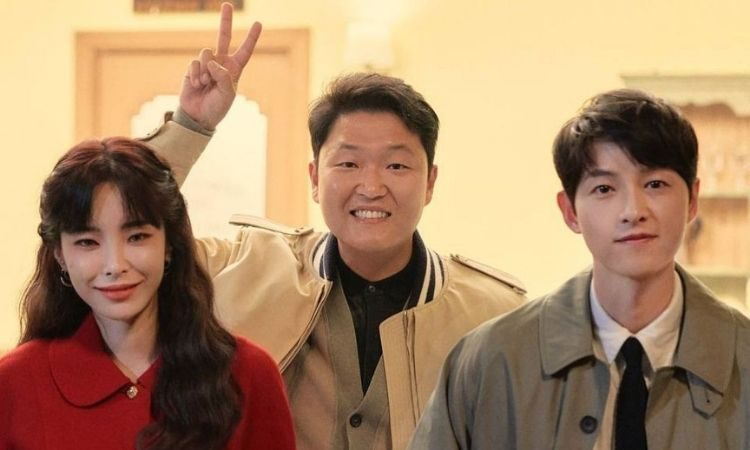 Heize, PSY y Song Joong Ki