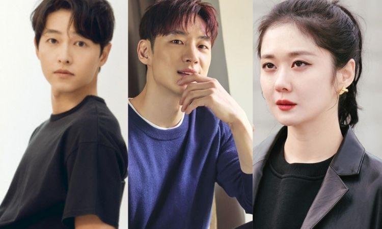 Song Joong Ki, Lee Je Hoon y Jang Nara