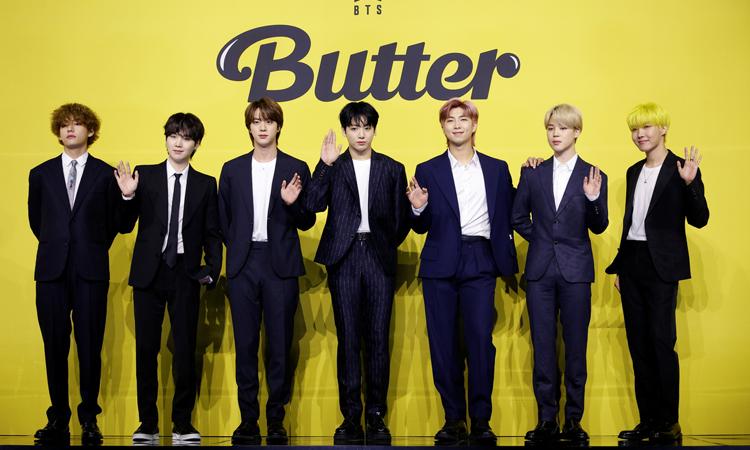 BTS logra un 'Perfect All-Kill' con 'Butter'