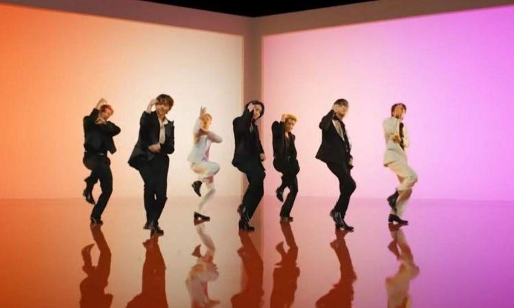 Escena del MV Butter de BTS
