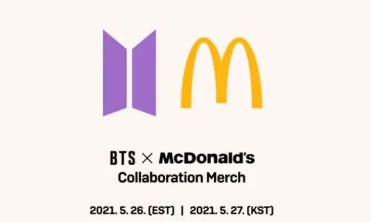 Logos de BTS x McDonald's
