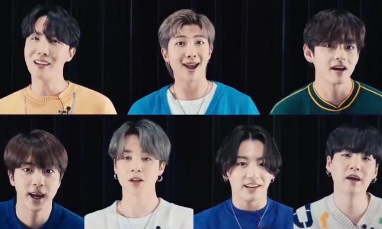BTS y Samsung se unen con un dulce mensaje de felicitación por el Día de la las Madres