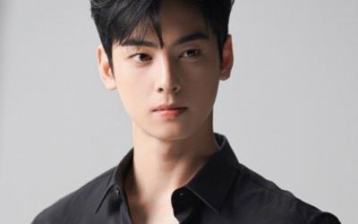 """Cha Eun Woo, da ASTRO, corta radicalmente seu cabelo por seu caráter de """"Decibel"""