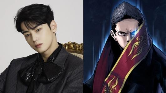 Cha Eun Woo de ASTRO llama la atención por el parecido con su personaje del webtoon 'Island'