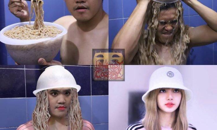 Artistacosplaytailandés nos hace llorar de risa con su representación de Lisa de BLACKPINK