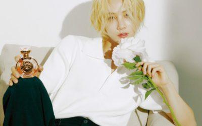 Jeonghan para la revista 1st Look