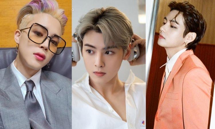 Jimin, Cha Eun Woo y V