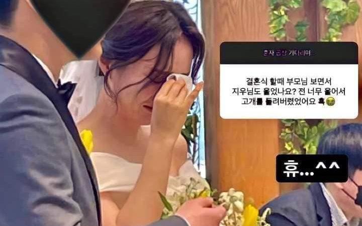 Este fue el hermoso mensaje que le dio J-Hope a su hermana el día de su boda