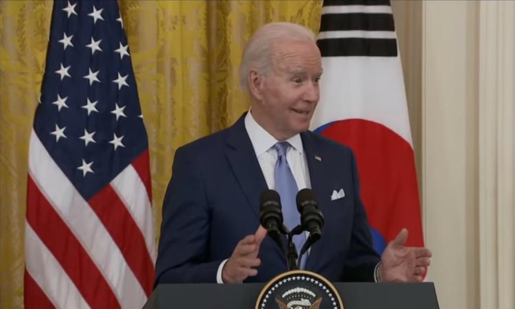Presidente de Estados Unidos, Joe Biden, habla sobre los Kpopers durante discurso